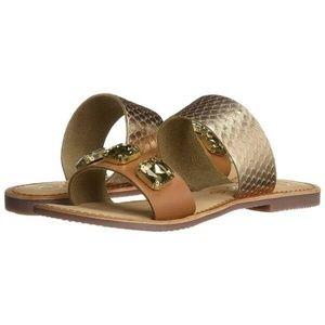 Callisto leather sandals
